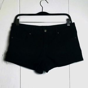 Forever 21 Black Denim Shorts